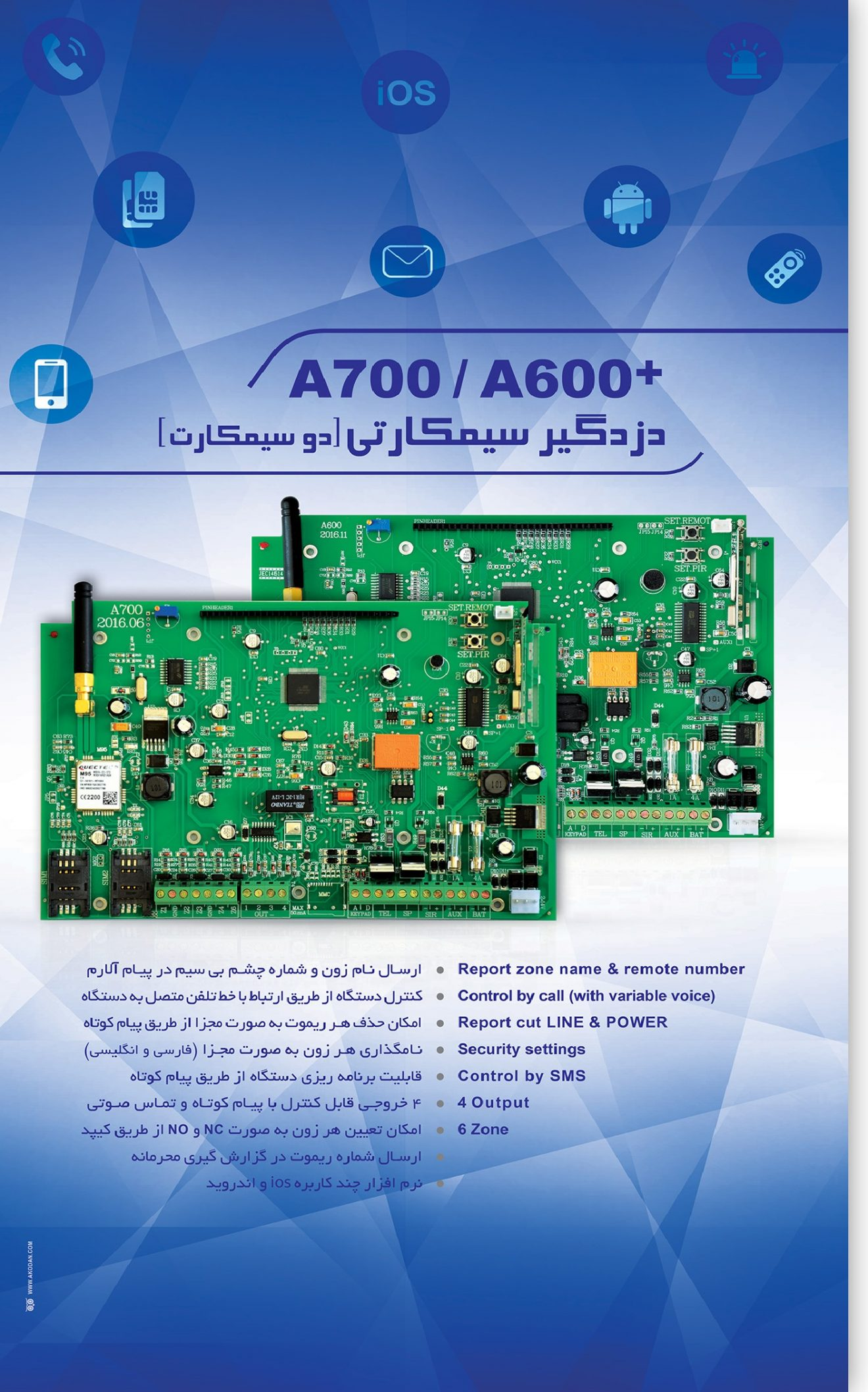 آنیک A670 و A770