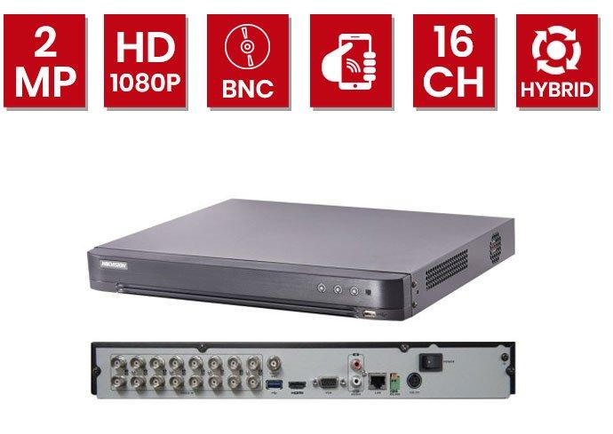 مشخصات دستگاه 16 کانال DVR هایک ویژن