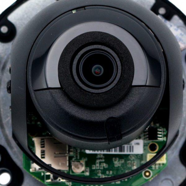 دوربین دام رنگ مشکی هایک ویژن با فناوری IK10