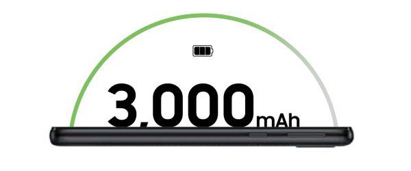 باتری 3000mAh با شارژدهی طولانی