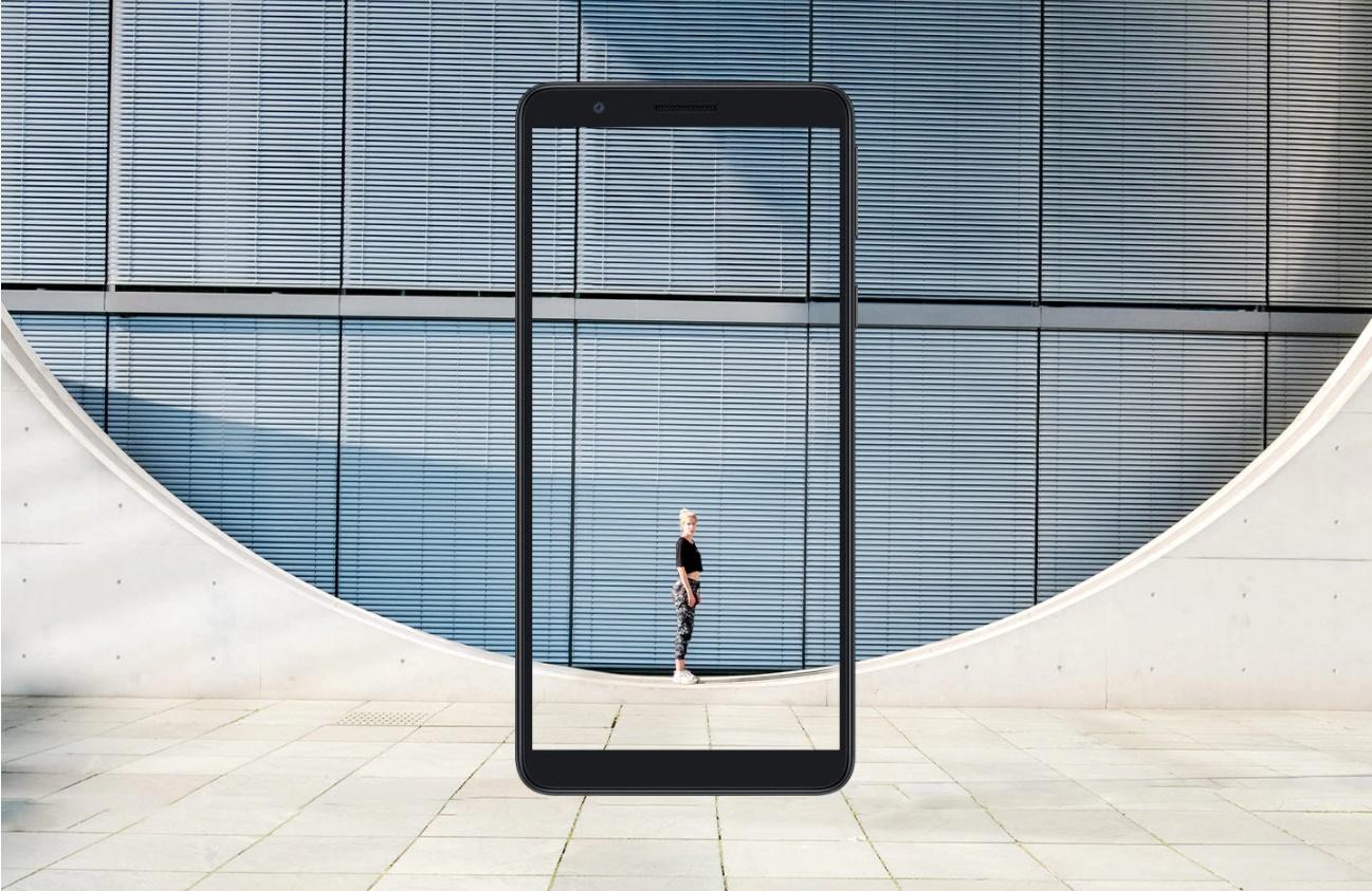 صفحه نمایش بزرگ تر و دید بهتر
