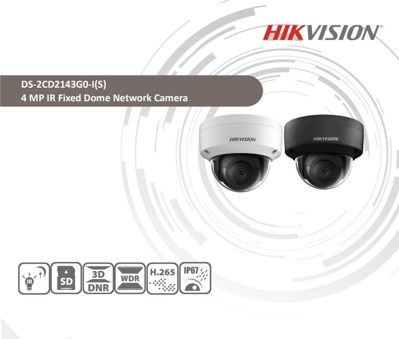 دوربین تحت شبکه هایک ویژن 4MP