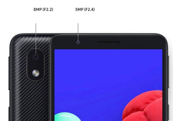 مشخصات دوربین های موبایل سامسونگ Galaxy A013