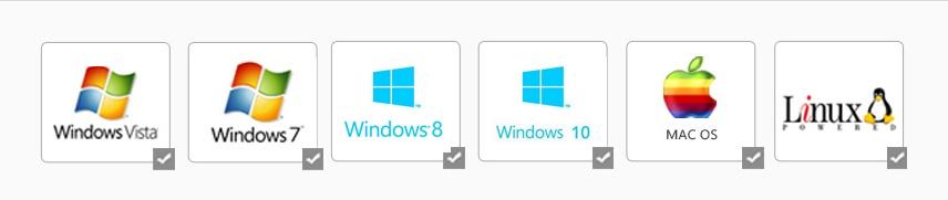 قابلیت سازگاری با تمام سیستم عامل ها