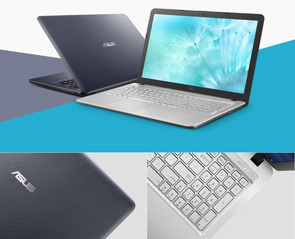 لپ تاپ ASUS X543MA با طراحی خاص