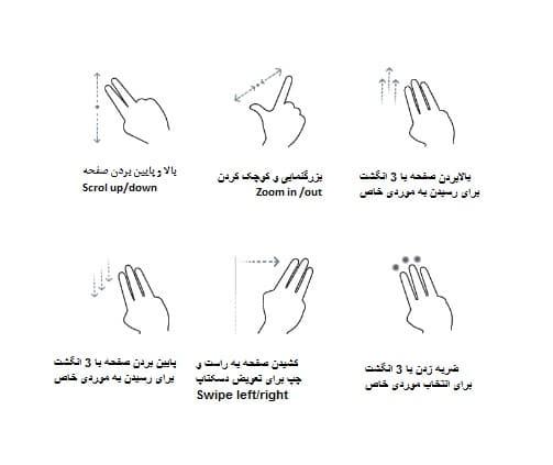 صفحه لمسی با تکنولوژی Asus