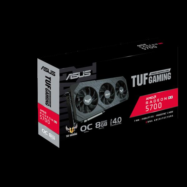 بسته بندی کارت گرافیک AMD ایسوس 8GB