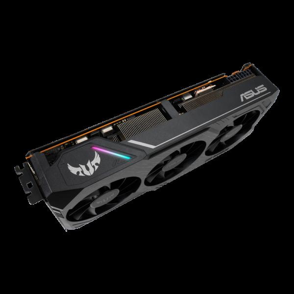 روشنایی کارت گرافیک AMD با 3 فن و رم 8GB
