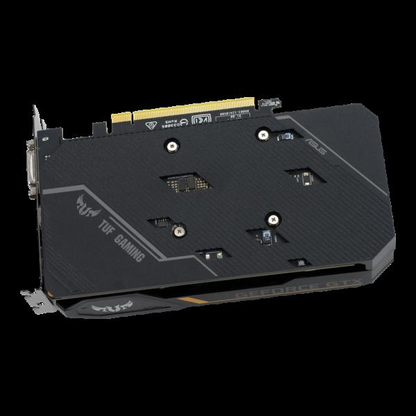 کارت گرافیک ایسوس TUF-GTX1650-4G-GAMING با پنل مقاوم و محکم